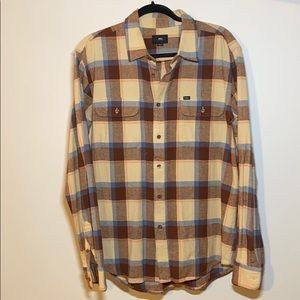 Men's Obey flannel - size:M